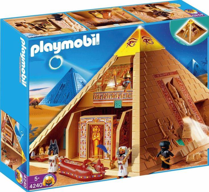 """Image - 3B SPECIAL HISTOIRE """"les égyptiens & son univers"""" 4240 Pyramide égyptienne - Blog de boblebrestois-les notices-playmobil - Skyrock.com"""