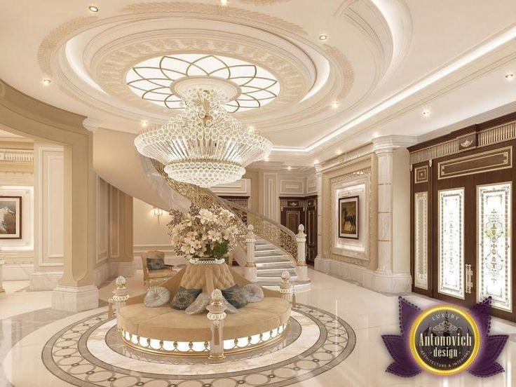 Foyer Decor Abu Dhabi : Luxury antonovich design villa in abu dhabi from