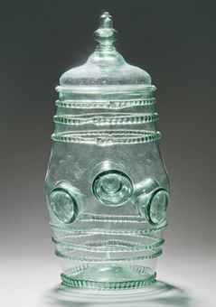 A THUMB BEAKER AND COVER (DAUMENGLAS)  18TH CENTURY, PROBABLY DUTCH  Price realised  GBP 1,625