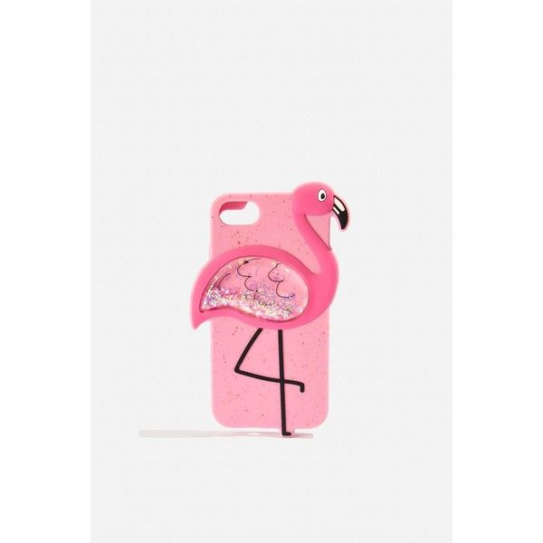 Flamingo Glitter Silicone Iphone Case by Skinnydip ($36) ❤ liked on Polyvore featuring accessories, tech accessories, multi, glitter iphone case, iphone sleeve case, topshop iphone case, iphone silicone case and silicon iphone case