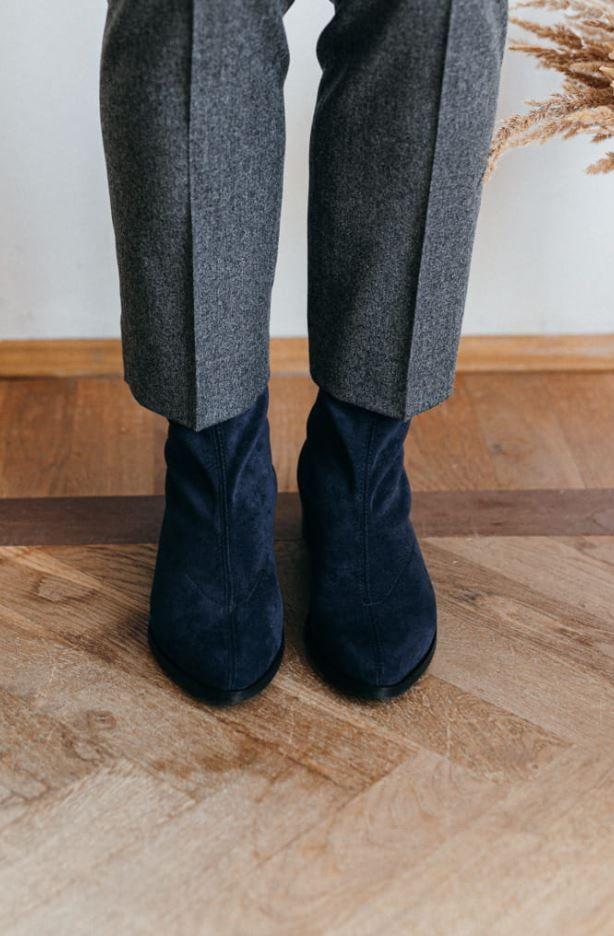 Jesienne Botki Z Lycry Shoes Fashion Clogs