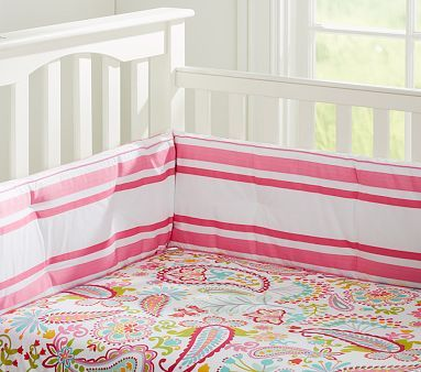 Tera Paisley Crib Fitted Sheet #pbkids