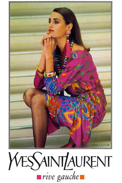 We look back to some of the best fashion campaigns of the 90's: Yves Saint Laurent Spring 1991