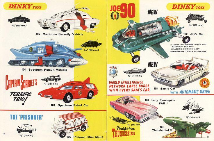 Dinky Toys- Captain Scarlet, Thunderbirds, The Prisoner Mini Moke!