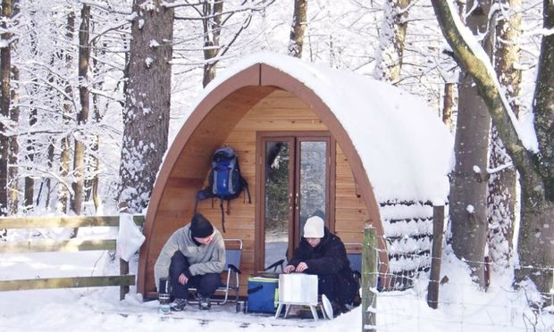 From cosy cabins and yurts to campervans and huts with character and mod-cons, winter camping can be cool, rather than just chilly, in these beautiful UK settings