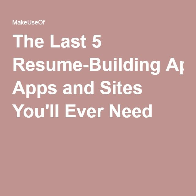 The 25+ best Building apps ideas on Pinterest Building designing - resume sites