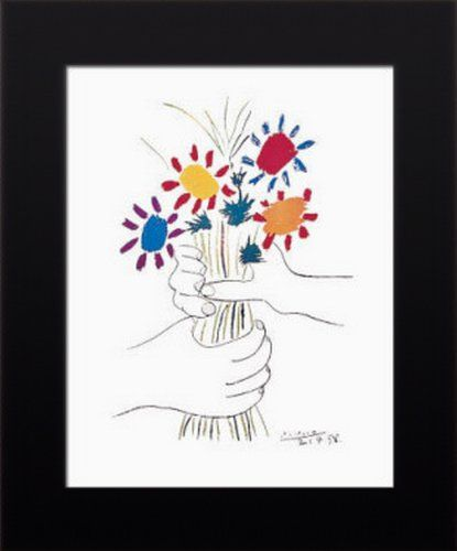146 best pablo picasso art poster images on pinterest for Picasso petite fleurs