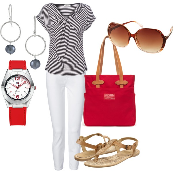 July 1st BBQ Outfit, created by jolynneshane on Polyvore
