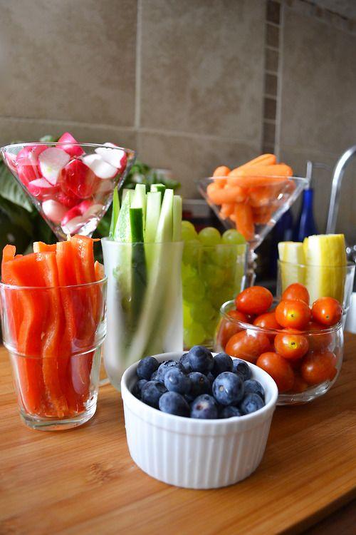 Now your healthy snacks look nice :)