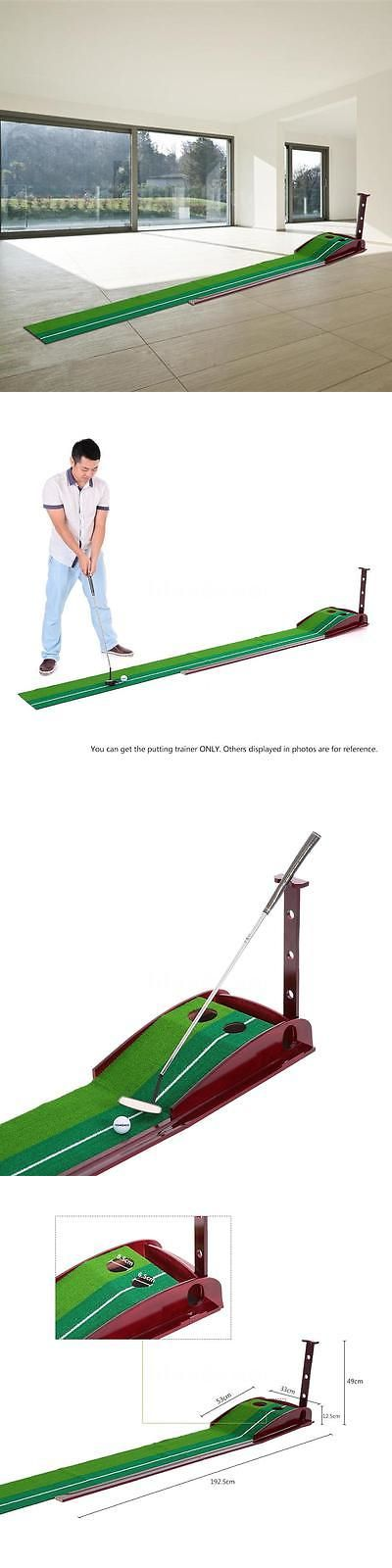 Putting Greens and Aids 36234: Training In Outdoor Portable Golf Practice Putting Mat Putter Trainer 2017 -> BUY IT NOW ONLY: $41.69 on eBay!