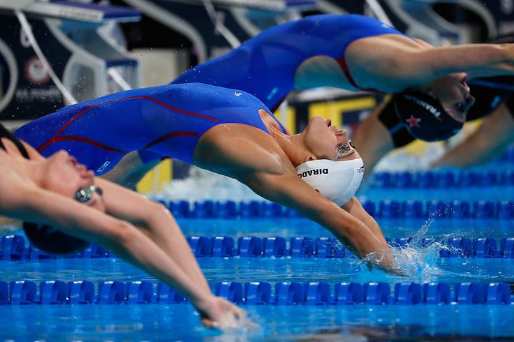 Missy Franklin: at age 17, when most American teenagers are getting ready to start their senior year of high school, she won a whopping five Olympic medals