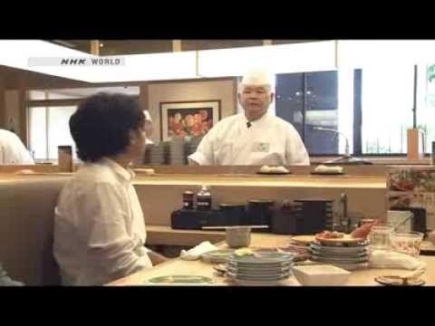 ▶ 2013.12.12 BEGIN Japanology - Conveyor Belt Sushi - YouTube