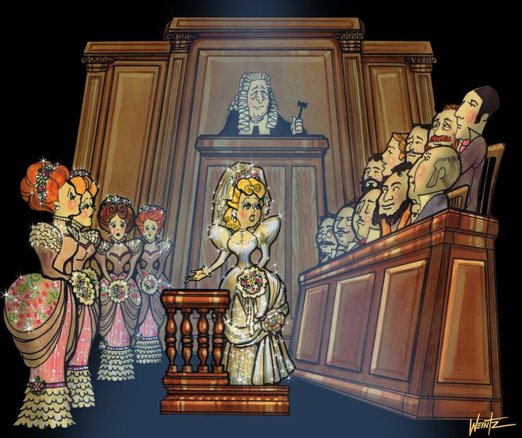 Trial by Jury - a short, silly, funny courtroom escapade.