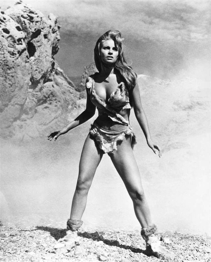 "Raquel Welch, ""One Million Years B. C."", 1966."