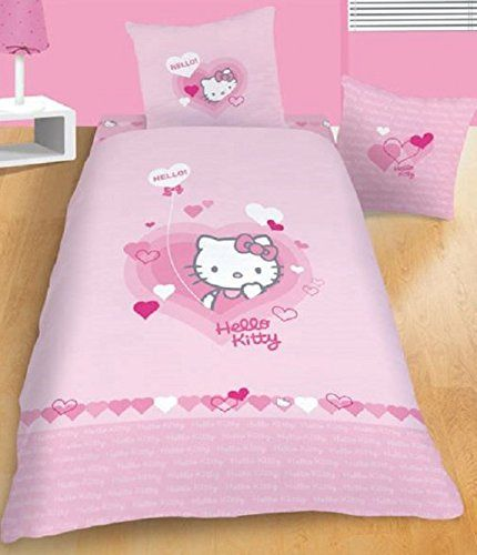 Bettdeckepillow Case Kleidung Der Bett Kinder Hello Kitty Make Up