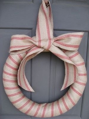 Article + Gallery ➤ http://CARLAASTON.com/designed/holiday-door-wreaths-you-wish-were-yours 18 Breathtaking Christmas Door Wreaths That Are Begging To Be Stolen By Neighbors (Image Source:  etsy.com