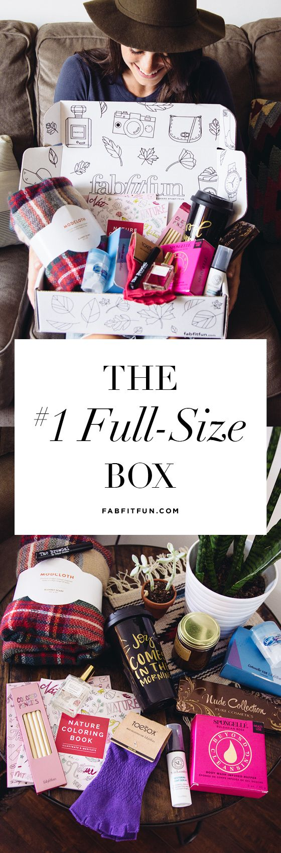 Treating yourself doesn't have break the bank. Say hello to FabFitFun and for just $39.99 you'll get a huge box stuffed with $200+ of full-size, luxury beauty, fashion, and wellness finds. Use code AUTUMN. Our boxes are delivered once a season. FREE Shipping. If you don't love everything in it, return it for a full refund...but we promise you won't want to!
