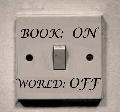 Book: on. World: off.