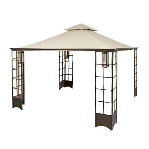 Garden Winds Replacement Canopy for Trellis Gazebo RipLock 350 -- For more information, visit image link.