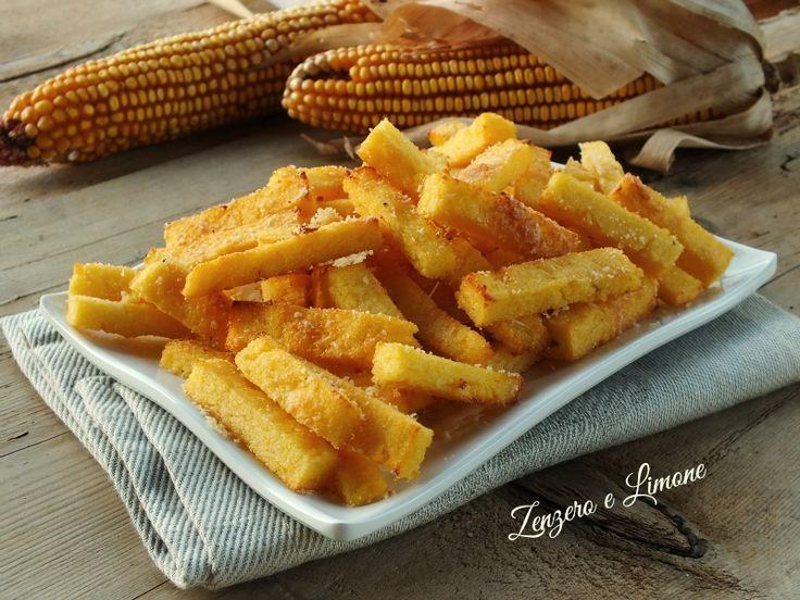 bastoncini di polenta al parmigiano -