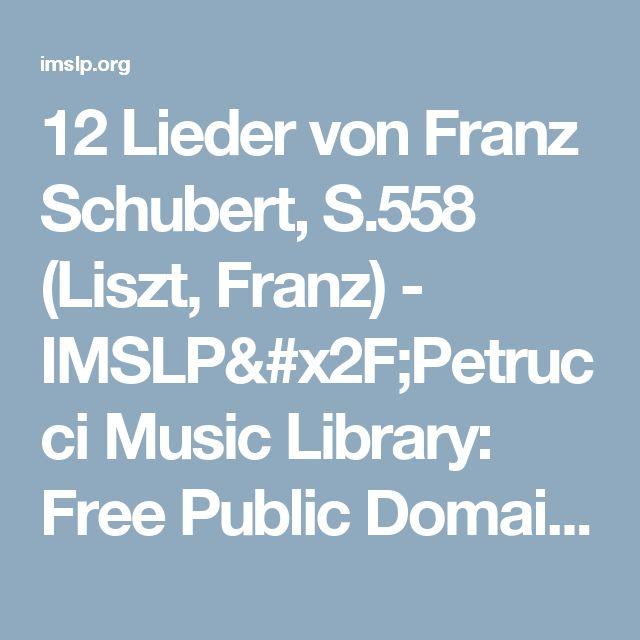 Liszt petrucci library