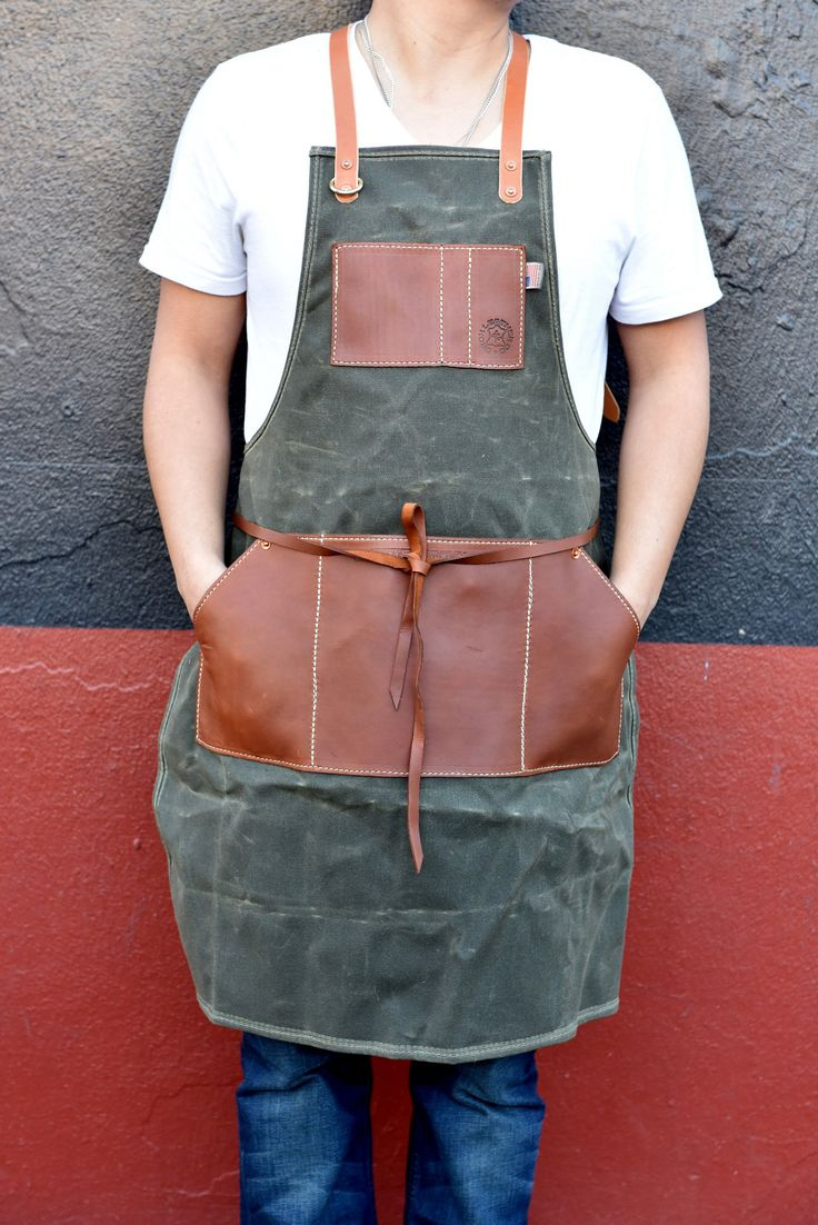 If you or someone you love is an artisan or aspiring artisan – and who isn't in their heart of hearts – our Tradesman's Apron is a must. Rugged, functional, and stylish this apron has got you covered!