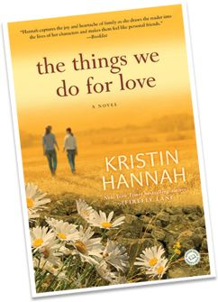 Another book by Kristin Hannah...I finished it on vacation.  I loved it.