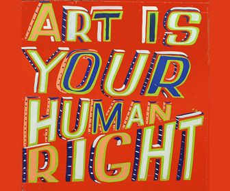 12 brilliant type and lettering tips for illustrators   Bob and Roberta Smith's new show champions the value of art and arts education for everyone