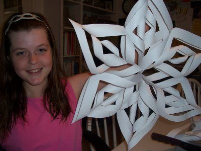 SuperHotMama's House: Supercool Snowflake Tutorial!  My youngest is into paper cutting. On our list for giant snowflakes!