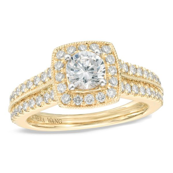40 Vintage Style Engagement Rings For Women Vera Wang