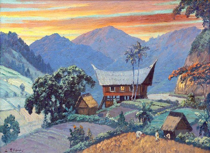 Leo Eland - Rumah Badjak Sumatra