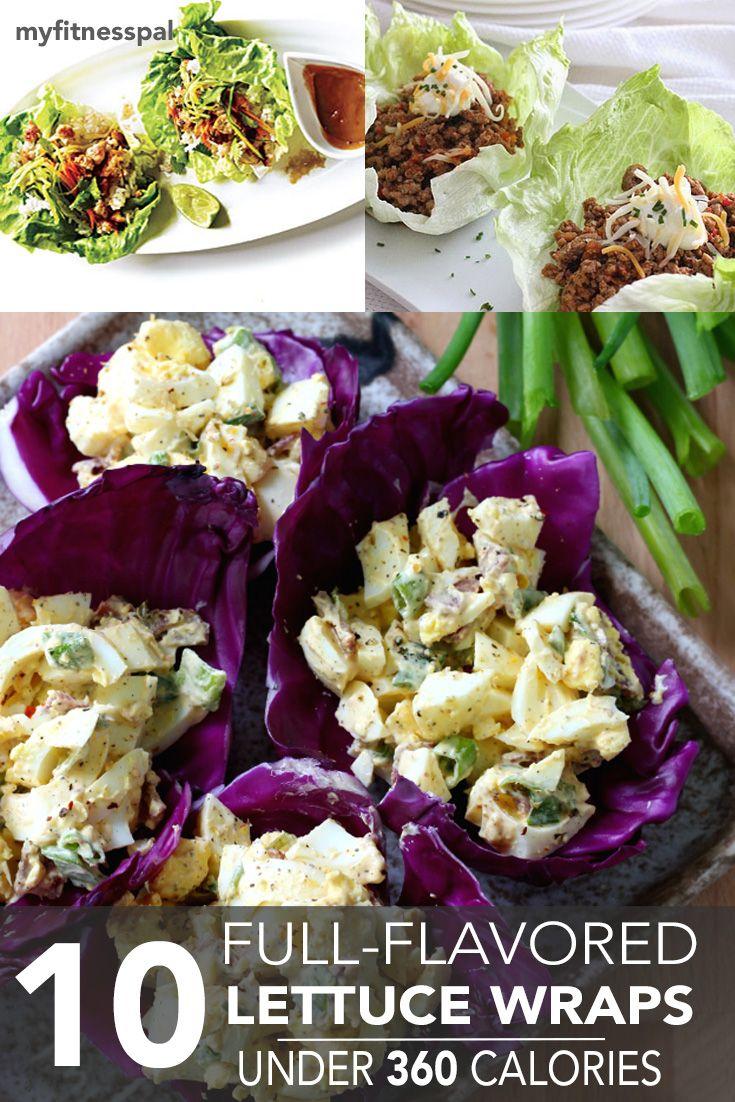 10 Full-Flavored Lettuce Wraps Under 360 Calories