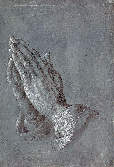 Dürer - Praying hands (study) | Flickr - Photo Sharing!