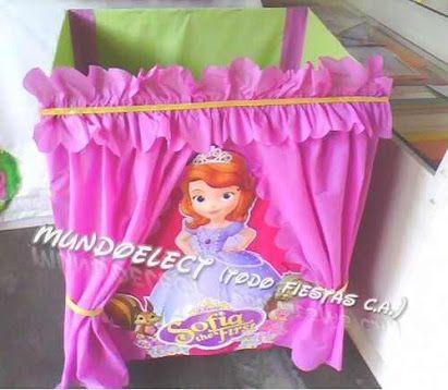 Idea para decorar la caja de regalos en fiesta infantil de ...