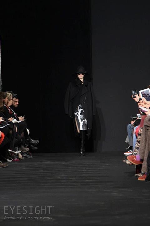 Costume National - RTW FW 2012 - Paris, produced by Eyesight Fashion & Luxury.