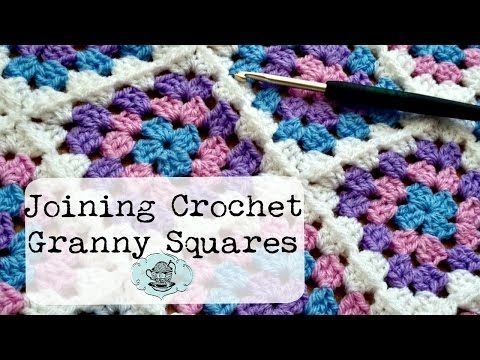 DIY Join-As-You-Go Method: Joining Crochet Granny Squares ¦ The Corner of Craft - YouTube