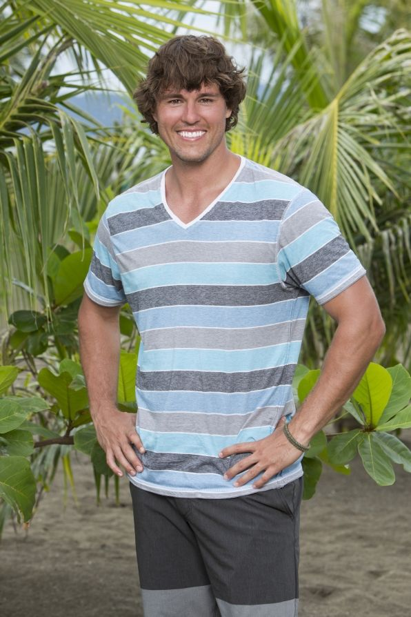 Hayden Moss (former Big Brother winner) will be one of 20 castaways competing with their loved one and other returning players on SURVIVOR: BLOOD VS. WATER