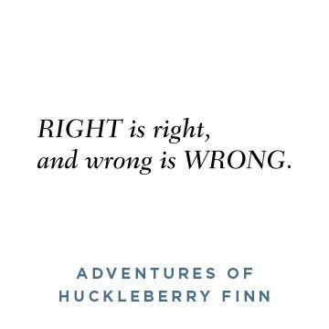 Huckleberry Finn- Opening Lines