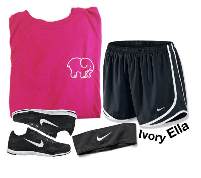 """Ivory Ella & Nike"" by ivory-ella ❤ liked on Polyvore featuring NIKE"