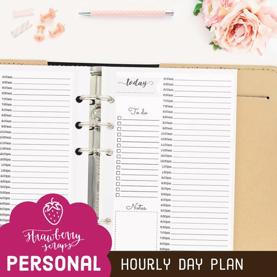 17 beste ideeà n over hourly planner op pinterest week planner