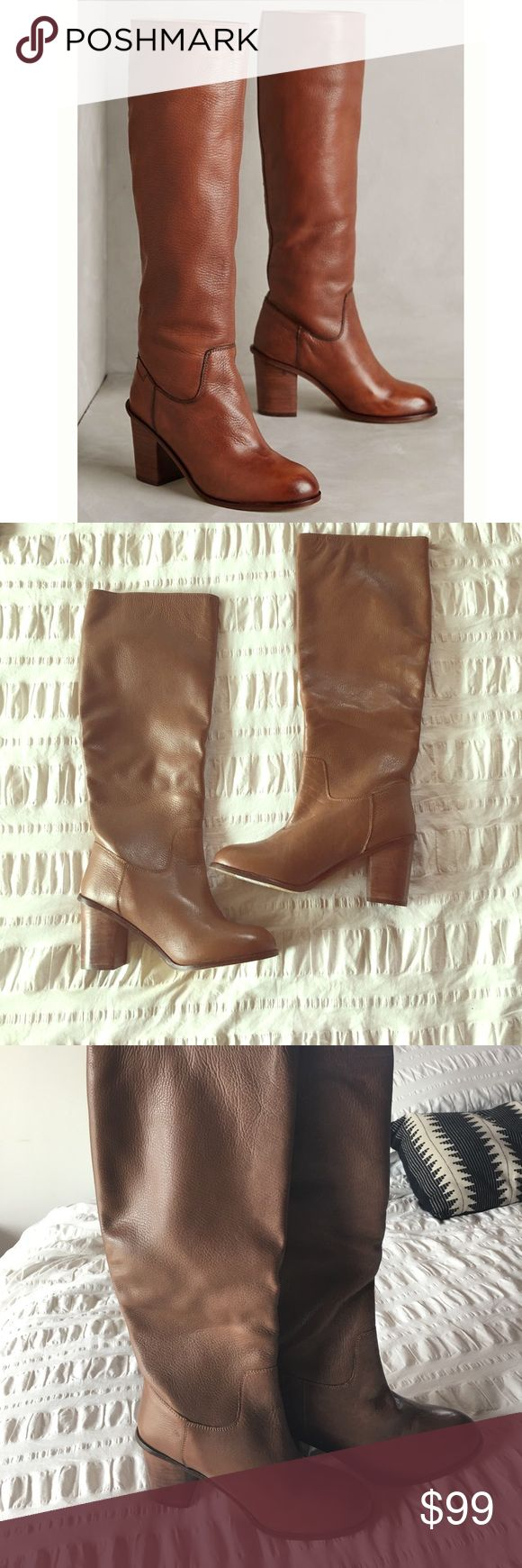 NWOT Anthropologie Lien Do by Seychelles Boots 9 NWOT Anthropologie Lien Do by Seychelles Boots 9 - worn once around the house bc I so badly wanted them to work but they are just too small for my 9 1/2 foot. Best for an 8 1/2-9. Anthropologie Shoes Heeled Boots