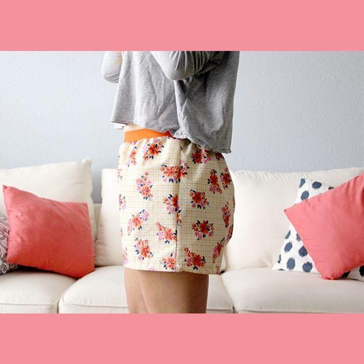 boxer shorts γυναικειο, πως να ραψετε μποξερ σορτς γυναικειο με πατρον, οδηγιες για αρχαριους, φωτογραφικο υλικο, tutorial, diy