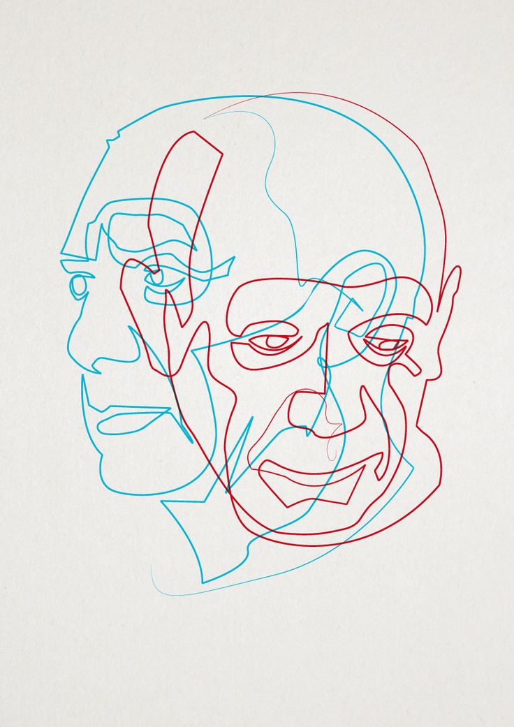 Contour Line Drawing Picasso : Best one line illustrations images on pinterest