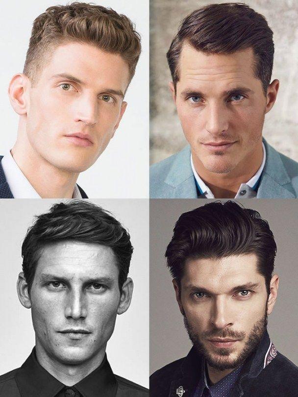 Erstaunlich Kurzhaarfrisuren Männer Längliches Gesicht