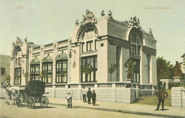 Iasi - Beraria Bragadiru - 1907