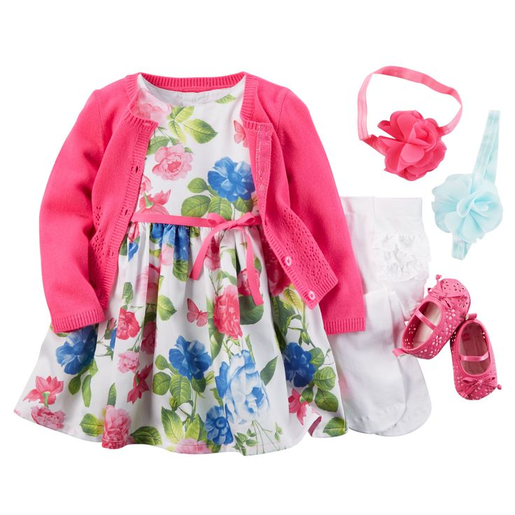 Best 25 baby girl easter dresses ideas on pinterest baby girl everything you love about spring is in this cute little floral sateen dress flouncy petticoat negle