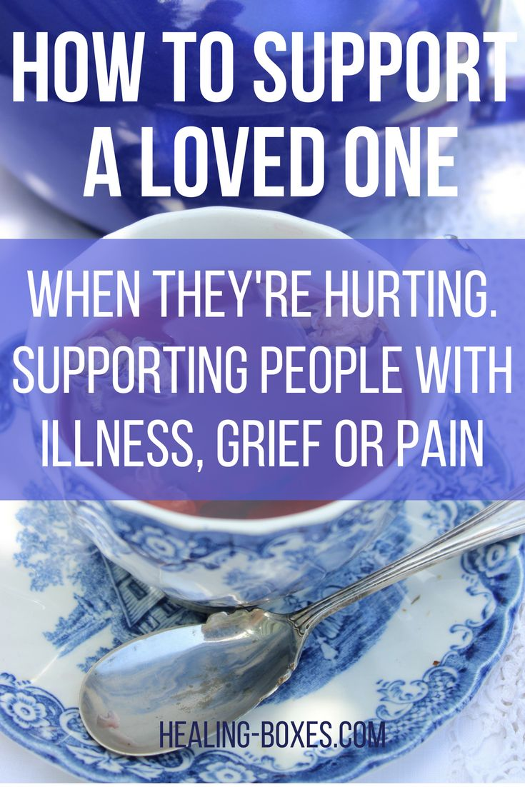 How To Support People with Illness Part 2