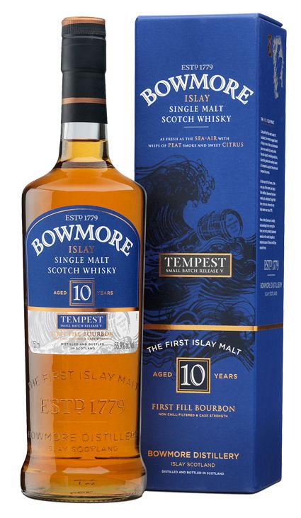 Bowmore Tempest Small Batch Release | Bowmore Islay Single Malt Whisky available from Whisky Please.