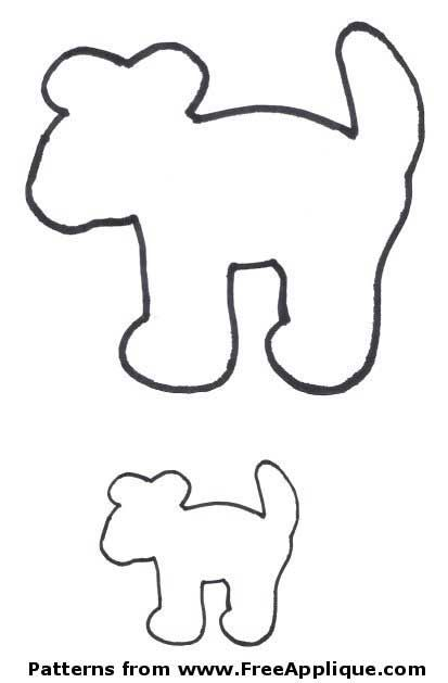 Free Dog Patterns To Use As Applique Quilt Or Clipart Also A Poodle Skirt Pattern