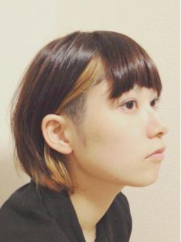 今風メッシュはインナーカラー♡ショート~ロングヘアカタログの画像   美人部